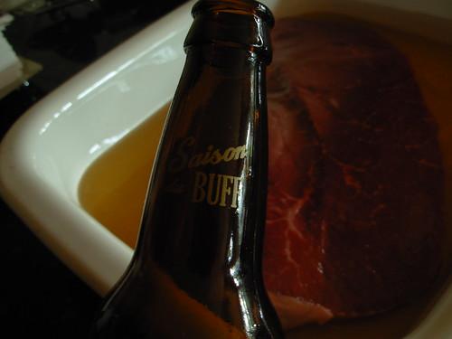 4787971269 e156d822e7 Cooking With Beer   Saison Du Buff