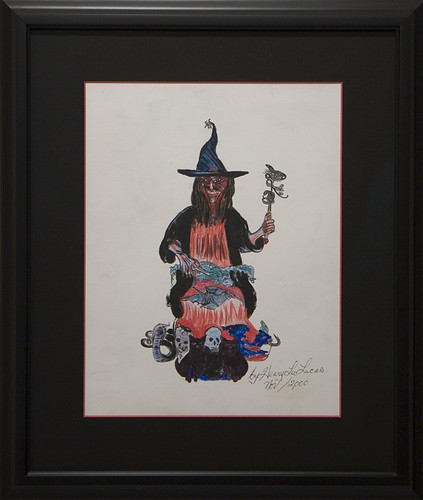 Henry Lee Lucas Drawing Henry Lee Lucas Wicked Witch