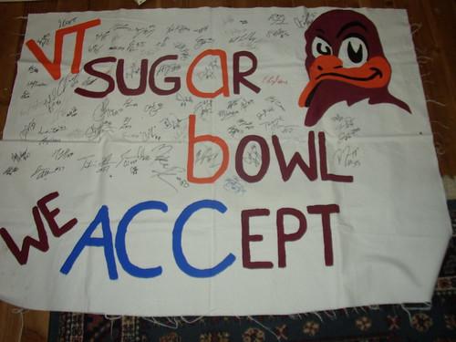sugar bowl banner