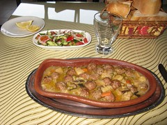 Jantar em Divriği, Turquia
