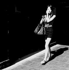 A place in the sun (Ian Brumpton) Tags: street blackandwhite bw london blancoynegro square blackwhite noiretblanc candid highcontrast streetportrait citystreets oxfordstreet biancoenero dreamcatcher sidewalkstories aplaceinthesun londonstreetphotography lifeinslowmotion scattidistrada neroamet aimlessstrolling blackwhiteheartbeats streetphotographycandidstreetportrait