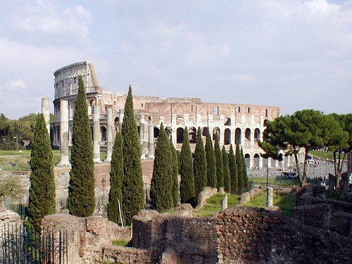 Coliseum from Palatine Hill, Rome