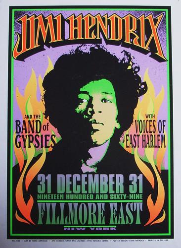 Jimi Hendrix - Band Of Gypsys, 1969/1970