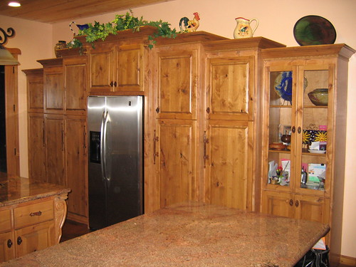 Inexpensive Yet Authentic Knotty Pine Cabinet's