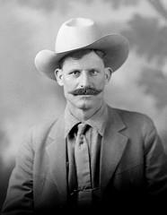 f_dhs_5464x (ricksoloway) Tags: men portraits cowboy cowboyhats photohistory foundphotos portriats photographica phototrouvee cochisecountyarizona menwearinghats douglashistoricalsociety irwinstudio