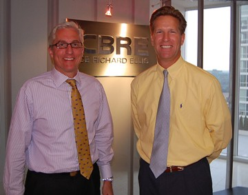 David Lanier and Chip Olsen of CB Richard Ellis