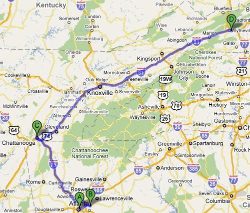 Day 12 Stop 3 - Wytheville, VA