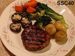 SSC40- Grilled Steak