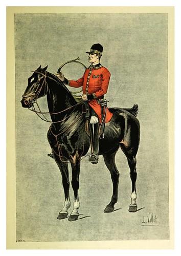 030-Un cazador-Le chic à cheval histoire pittoresque de l'équitation 1891- Louis Vallet