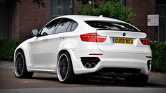 BMW Lumma CLR X 650 (Thomas van Rooij) Tags: lighting street city light white car photography cool nikon power shot thomas rear great clr style automotive spot exotic bmw beast nikkor rim rims heavy breda executive luxury rare centrum coupe exhaust 2010 18105 lumma x6 d90 x650 rooij thomasvanrooij lummaclrx650