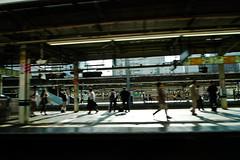 , Busy of City ( | YELLOW Mao) Tags: japan tokyo jr panasonic trainstation   yamanoteline naritaexpress   lx3