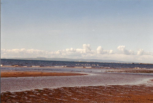 View from Ayr - Irish Sea
