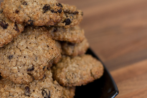 The Oatmeal and Raisin Cookies