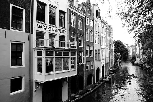 Magazijn de Vlijt with Oudegracht, Utrecht