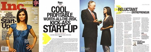 Spread in Inc. Magazine
