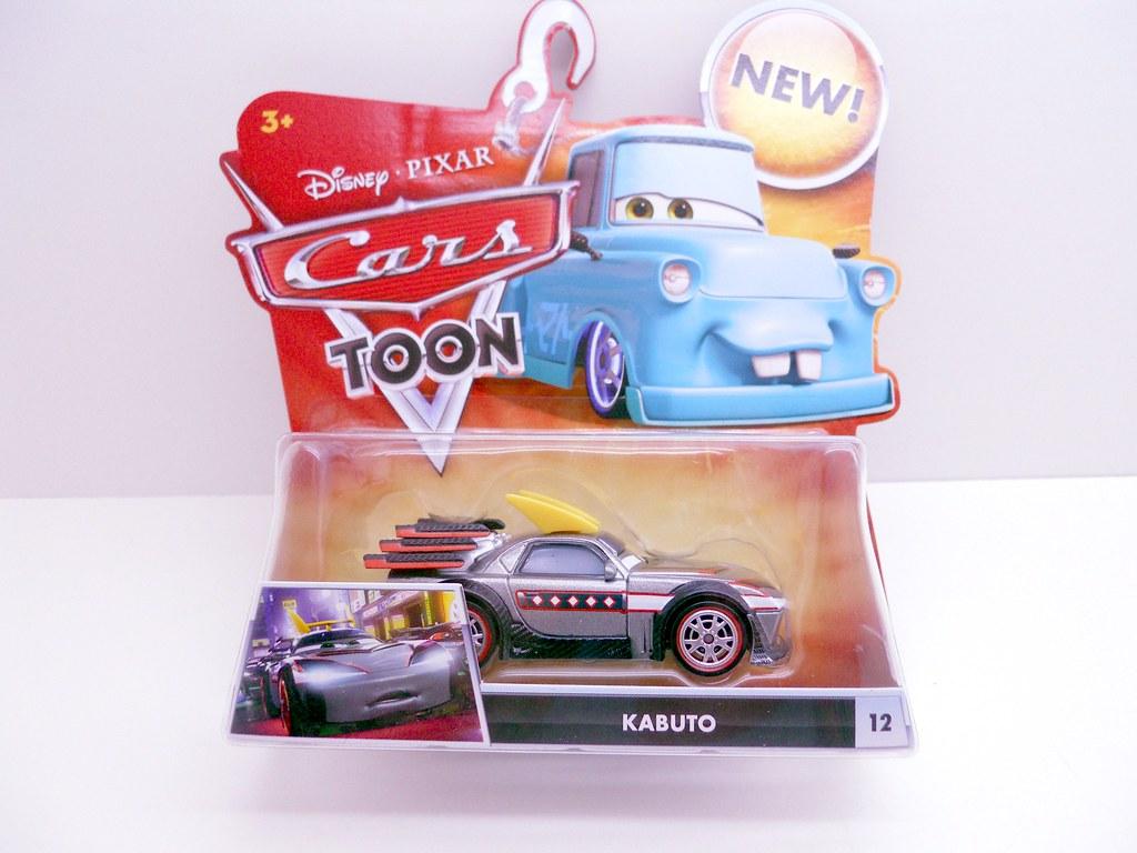 Disney CARS TOON Tokyo Mater: Kabuto And Ito San