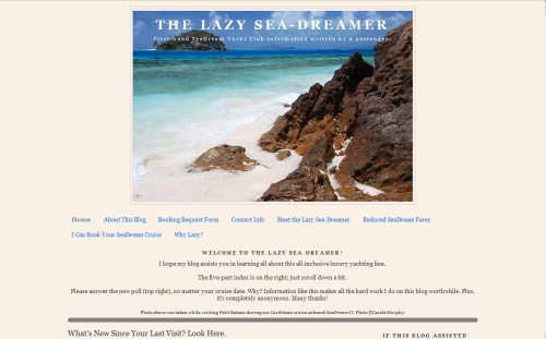 The Lazy Sea-Dreamer