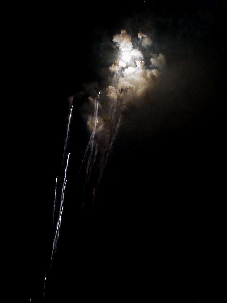 Reds fireworks