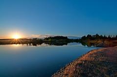 Nanaimo River Sunrise (Daniel Byrne) Tags: camping vancouver sunrise river island nikon nanaimo tokina vancouverisland dri 1116 digitalblending d300s tokina1116f28