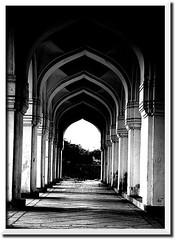 Arches ($udhakar) Tags: india history pentax hyderabad andhra hpc nizam andhrapradesh qutubshahitombs justpentax pentaxk100dsuper wwwsudhakarcom smcpda1645mmf40edal hpcphotomeet