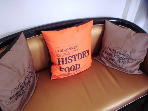 Complete History of Food by Bompas and Parr - Cushions