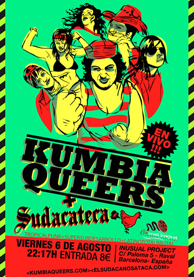 KUMBIA QUEERS + SUDACATECA