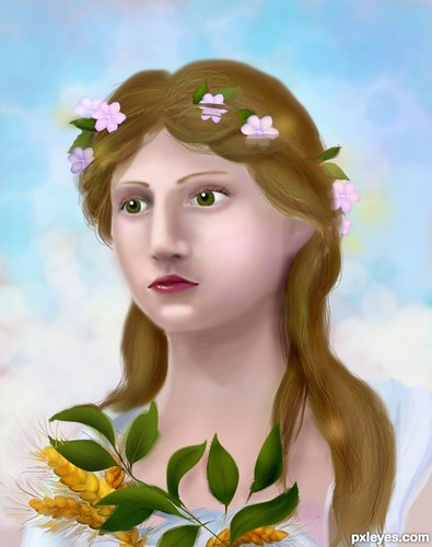 demeter greek god. Demeter, ranked 2 in the greek