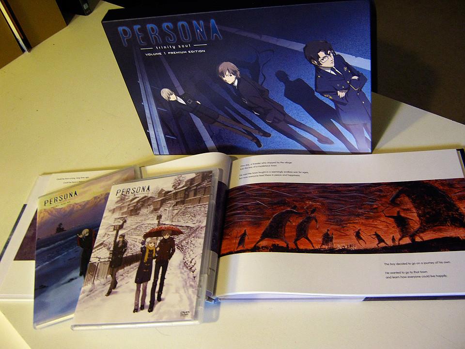 Persona Trinity Soul - Premium Edition Box Set