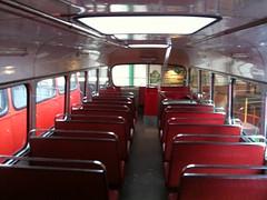 Inside the North Western's Fleetline (upper deck - 2/2)