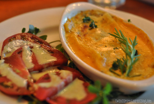 East Side Cafe ~ Artichoke Manicotti (Austin, TX)