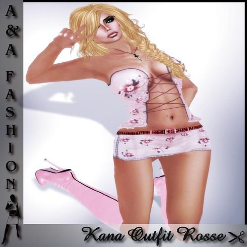 A&A Fashion Kana Outfit Rossa