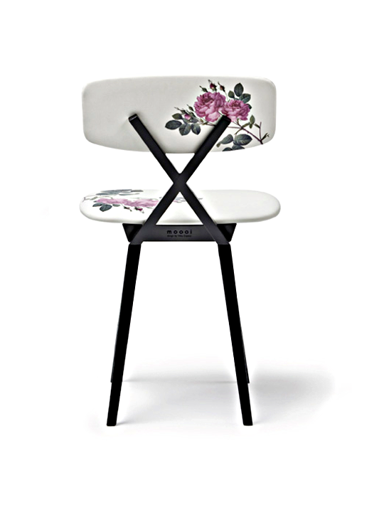 Nika Zupanc 5 O'clock Chair+modern rose chair