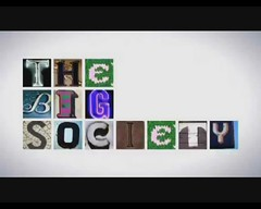 THE BIG SOCIETY letters