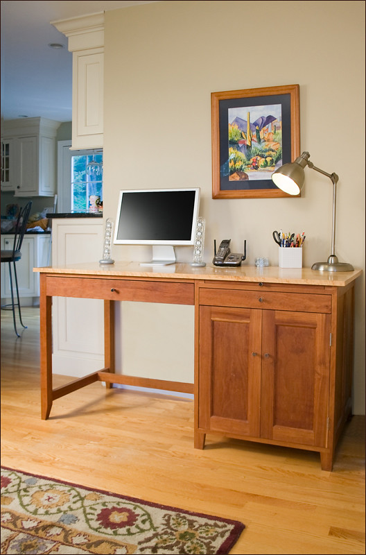 Cherry Shaker Computer Desk