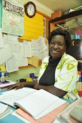 2c. Head teacher, Scholastica Opiyo