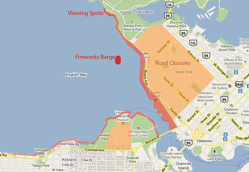 Celebration of Light Fireworks: Best Viewing, Road Closures, Transit