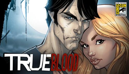 True Blood Comic Store
