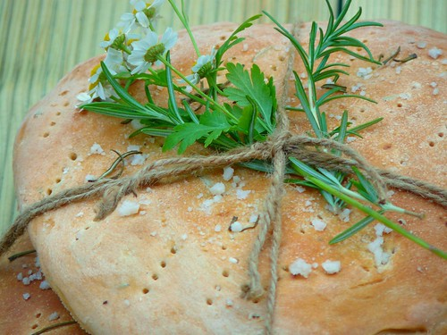 focaccia loaves gift recipe