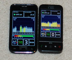 Samsung Galaxy S vs HTC G1