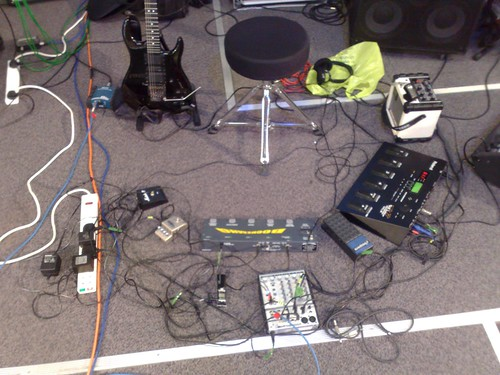 guitar stage gear equipment looping