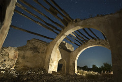 ERMITA DE CASAREJOS (2) (Diego Canovas) Tags: old longexposure lightpainting church stars spain nightshot murcia lorca 2010 nikond700 nikon1424