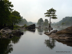 Rock Garden On The River (FreeWine) Tags: morning trees vacation oklahoma nature water rocks scenic explore zen cypress rockgarden paddling brokenbow lmf lowermountainforkriver platinumphoto