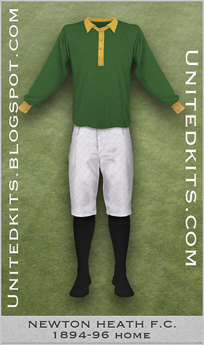 Newton Heath 1894-96 Home kit