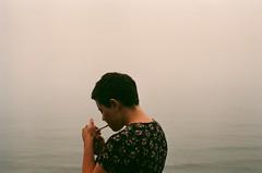 (genevive bjargardttir) Tags: summer film fog analog 35mm iceland iso400 july olympus east om1 fjords sland austfirir austerland genevivebjargardttir