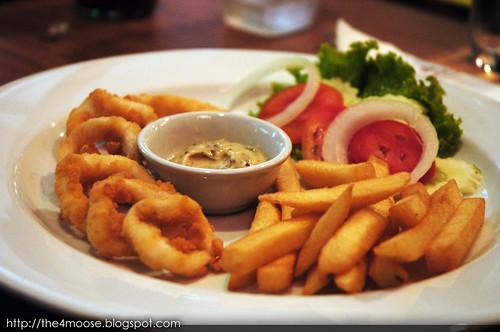 Silom Village - Calamari & French Fries