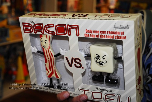 Bacon Vs. Tofu