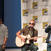 Dule Hill, Curt Smith and James Roday acoustic Shout