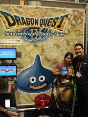 Satsuki & Gil at Nintendo Booth