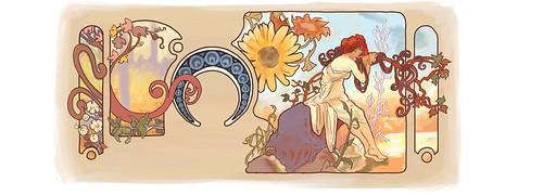Google Alphonse Mucha