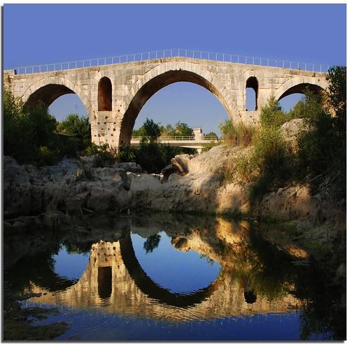 Pont Julien - достопримечательности Прованса, вокруг Русильона